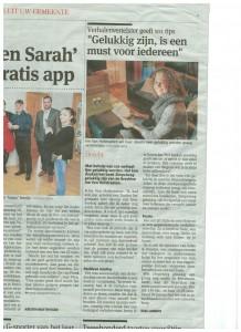 Ine Van Hofstraeten in Gazet van Antwerpen